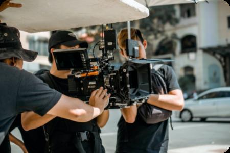 people filming